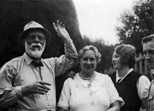 Com a família – 1934