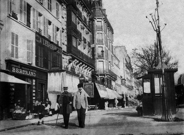 Visconti com Félix Bernardelli em Paris – 1893