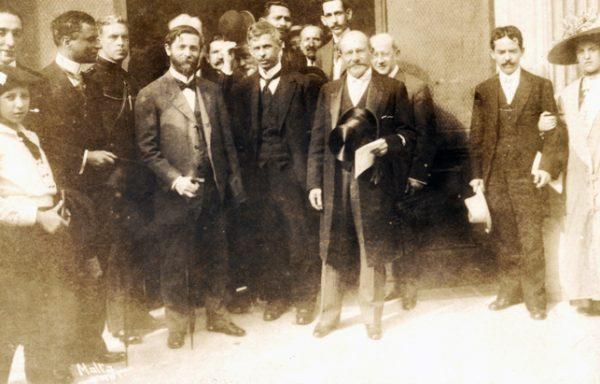 Visconti com o Marechal Hermes da Fonseca