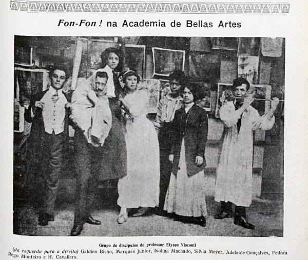 ALUNOS DE VISCONTI - c.1910