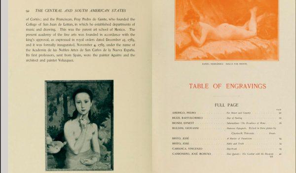 """Gioventù no livro """"Obras primas da Exposição Universal de 1900"""""""