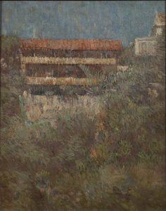 SANTA TERESA, RESIDÊNCIA DE JOAQUIM MURTINHO - OST - 40,7 x 32,7 cm - 1909 - COLEÇÃO PARTICULAR