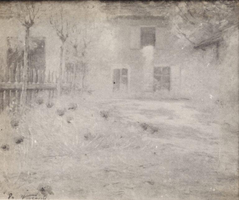 OUTONO EM SAINT HUBERT - OST - 54,0 x 65,0 cm - c.1916 - LOCALIZAÇÃO DESCONHECIDA